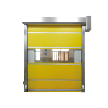Cortina de tela de PVC Puerta enrollable de alta velocidad enrollable