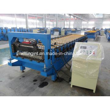 Dachwalzenformmaschine aus verzinktem Stahl