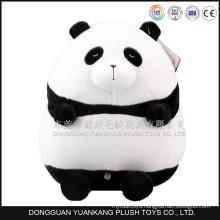 Soft panda bear cute fat panda plush toy