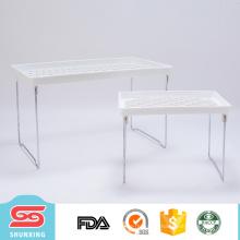 Rack de plástico doméstico de cozinha para artigos diversos de armazenamento