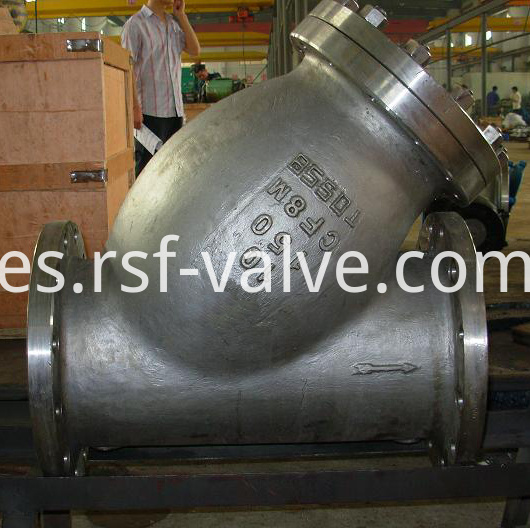 Cast Steel Y Strainer 1
