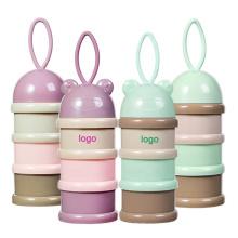 Portable Bottle Plastic Travel Best Storage Holder Box Baby Formula Powder Dispenser Milk Container