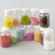 Tablet coating, colored powder for tablets