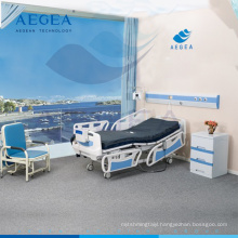 AG-BY003C with center controlled lock health care five functions medical equipment electric hospital beds prices