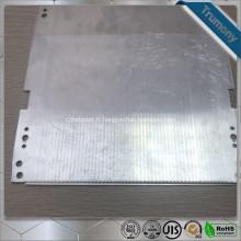 Tuyau de chauffage en aluminium plat supraconducteur composite