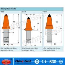 Cortador del carbón de China U92 poco de selecciones cónicas de la máquina minera