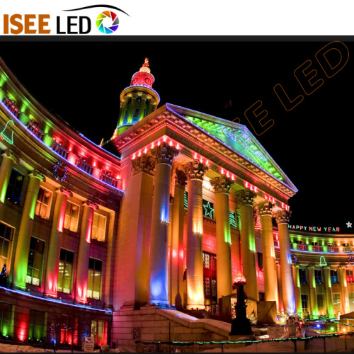 Edificio Spot Luces Decoración LED Superficie Pared