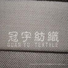 100% Polyester Imitieren Leinen Sofa Stoff mit Vliesrücken