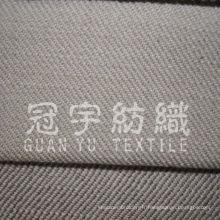 100% polyester imitent le tissu de canapé en lin avec support non tissé