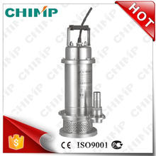 Stainless Steel Automatic Submersible Pumps for Seawater (QDX3-20-0.75G)