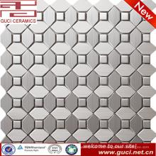 Foshan Lieferung gemischt Edelstahl Mosaikfliesen für Küche Wand Design
