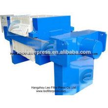 Leo-Filter-Presse-automatische hydraulische industrielle Filter-Presse-Maschine, automatische hydraulische drückende Filterpresse