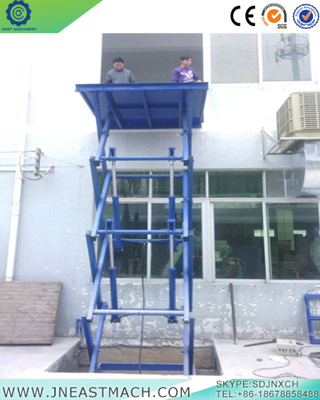Double Shear Fork Lift Platform