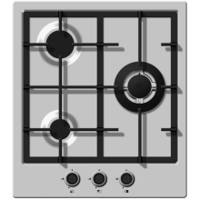 Gas Cooker Three Fires Three-Burner