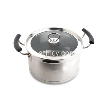Top Quality 30cm en acier inoxydable sauce pot