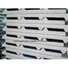 Material de espuma para techo de pared EPS Sandwich Panel Easy Insulated