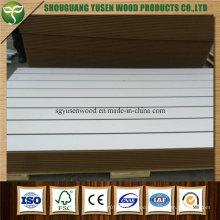 Melamine Slotted Board, High Quality Slat Wall Board