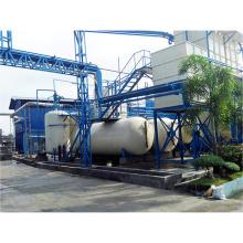 Equipo plástico de la refinería de petróleo del neumático de la basura, máquina de refinación plástica