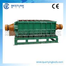 Grande Volume 2800L Linear tipo máquina da vibração para várias pedra