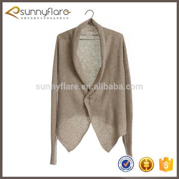 Wholesale pur cachemire tricoté femmes manteau cardigan