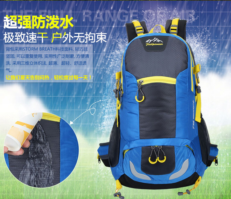 Felt Laptop outdoor sport backpack mini trolley travel bag