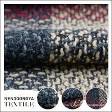 Custom made Designer fashion slub microfiber chenille fabric