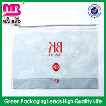 print your company logo cosmetic make up velvet bag