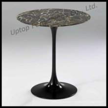 Aluminum Base Black Tulip Coffee Table (SP-GT346)