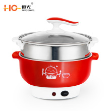 High quality electric hot pot  material non-stick electric stew pot multi-purpose steamer electric slow cooker