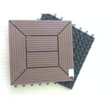 ¡Garantía! Azulejos de cubierta de patio compuesto de superficie de madera natural