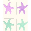Nieuwste Starfish Shape Baby Chew Silicone Safety Teether