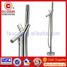 European floor standing bathtub shower faucet,outdoor shower mixer