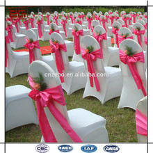 Professional Manufacture Wedding Cheap Chair Covers Chair Sashes for Sale