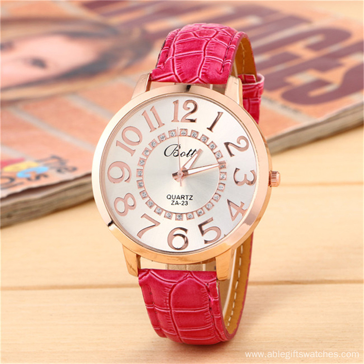 Ladies Noble Leather WristWatch