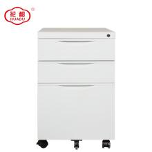 Escritório de venda quente ao lado KD móvel móvel gabinete 3 gaveta pedestal solução de armazenamento