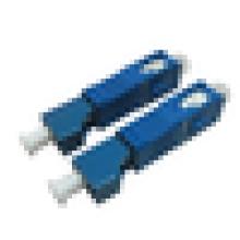 Adaptador Fibra Óptica Híbrido LC Female SC Fibre Adaptador Masculino, adaptador monofásico de fibra óptica híbrida 9/125