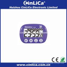 big LCD display muti-functional alarm timer with car digital clock themes CT-680