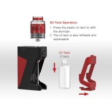 7ml vaporizer suppliers Zbro creative oil tank RDA chargeable Box battery vape