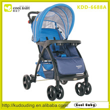Factory new lightweight fancy baby stroller and pram for baby adjustable handle height