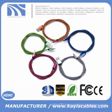 New Braided Reversible USB 3.1 Type C to USB2.0 Data Sync and Charging cable