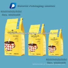 Laminado PET / VMPET / PE folha de alumínio café / saco de embalagem kaffee