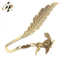 Chine usine en gros top grade cuivre antique plume signet avec pendentif