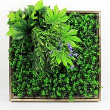 Горячие продукты с УФ-защитой вертикальной стене садового искусства с листвой