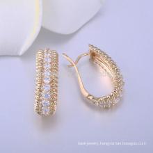 white stone stud earrings diamond gold earring