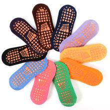 Custom sport socks men anti slip socks trampoline socks
