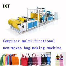 Machine non tissée pour la fabrication de sacs Kxt-Nwb03 (CD d'installation joint)