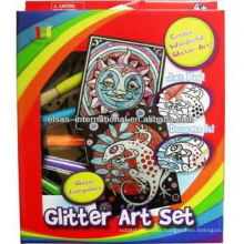 wholesale glitter sets kits art and craft paint