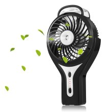 Misting Fan Mini Handheld LED USB Fan Personal