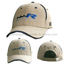 Gorra de golf de algodón con hebilla ajustable