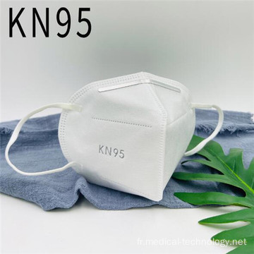 Masque simple blanc de haute qualité KN95